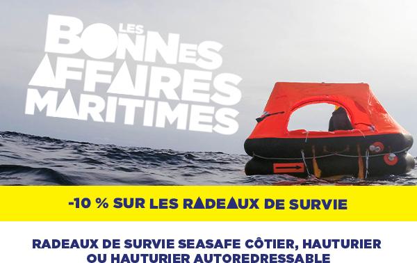USHIP ACCASTILLAGE SHIPCHANDLER NAVICAP RADEAUX DE SURVIE SEASAFE SECURITE BATEAU